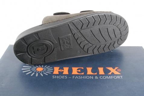 Helix Herren Pantoletten Clogs Pantolette Pantoffel schwarz/grau 54131 Leder NEU - Vorschau 5