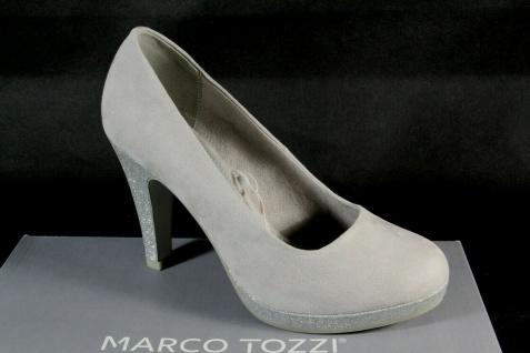 Marco Tozzi Pumps Ballerina Slipper grau 22441 NEU! - Vorschau 4