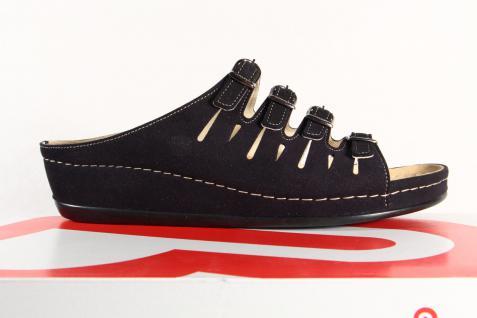 Berkemann Berkemann Berkemann Damen Pantolette Pantoffel schwarz 00737 NEU! Beliebte Schuhe 73bcfb