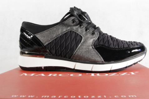 Marco Tozzi Damen Schnürschuhe schwarz 23726 Sneakers Halbschuhe schwarz Schnürschuhe NEU! 4433d5