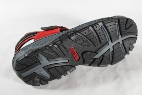 Rieker Damen Sandale Sandalen rot, Sandalette 68851 rot, Sandalen KlettverschlußNEU!! e1740b