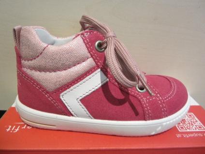 Superfit Lauflern Neu Stiefel Schnürschuh pink Leder Neu Lauflern !!! b850e2