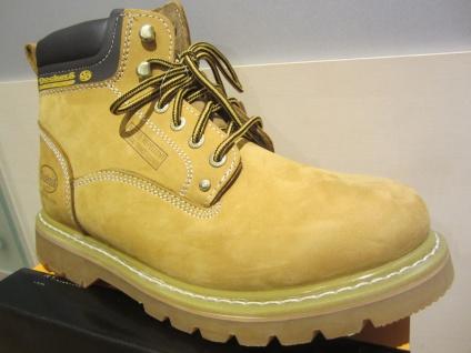 Dockers Stiefel, Goodyear gelb, Echtleder, Warmfutter, Goodyear Stiefel, welted schuhe NEU 12617e