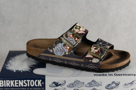 Birkenstock Pantolette Pantoletten Hausschuhe Pantoffel NEU! blau multi NEU! Pantoffel 4ebbb5