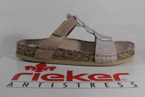 Rieker Pantolette, Pantoletten grau 64059 Klettverschluß NEU! Beliebte Schuhe Schuhe Schuhe 1ee92e