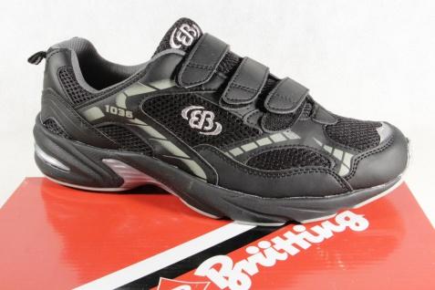 Brütting Herren Sportschuhe Halbschuhe Schnürschuhe Sneakers schwarz NEU