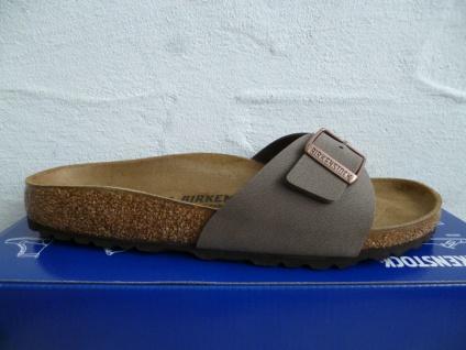 Birkenstock Madrid Pantolette Pantoletten Sandale braun 0040093 NEU!