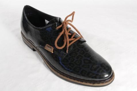 Rieker Damen 50614 Schnürschuhe, Halbschuhe, Sneakers, schwarz/grau 50614 Damen NEU! d2d6f4