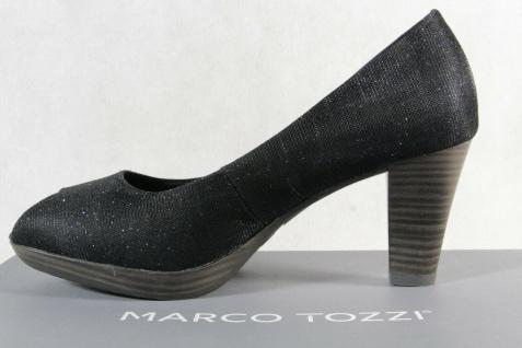 Marco Tozzi Pumps Ballerina Slipper Peep Toe blau NEU! - Vorschau 3