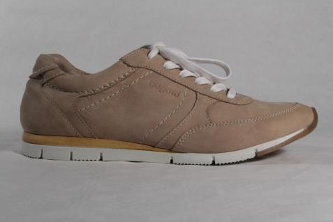 Bugatti Sneakers Damen Schnürschuhe Sneakers Bugatti Halbschuhe Leder beige NEU! c98354