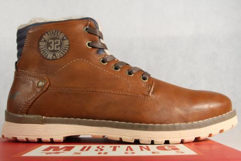 Mustang Stiefel Boots Boots Boots Schnürstiefel Winterstiefel braun 4092 NEU !! 4404b0