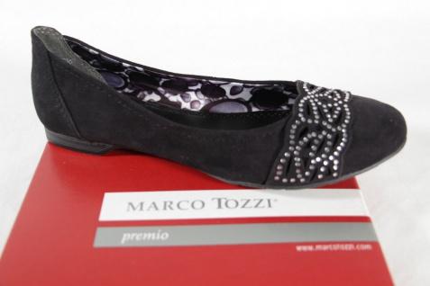 Marco Tozzi Innensohle Ballerina Slipper schwarz, weiche Innensohle Tozzi NEU! a70c02
