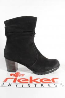 Rieker Stiefel 98570 Damen Stiefel Stiefelette Stiefel Rieker schwarz Reißverschluss NEU 4fb945