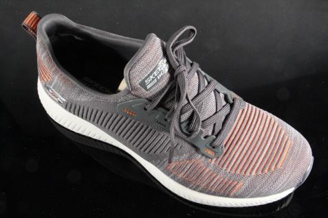 Skechers BOBS Schnürschuh Slipper, Foam Sneakers Sportschuhe Memory Foam Slipper, grau NEU! f48251