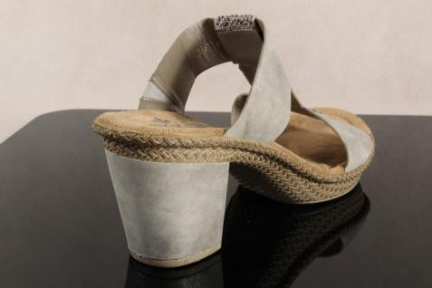 Rieker Damen Pantoletten grau Pantolette Sandale Slipper grau Pantoletten 66564 NEU! dbc85a