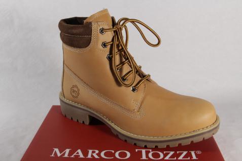 Marco Tozzi 26226 Echtleder Damen Stiefel, Stiefelette, Stiefel Echtleder 26226 gelb NEU! d64ea4