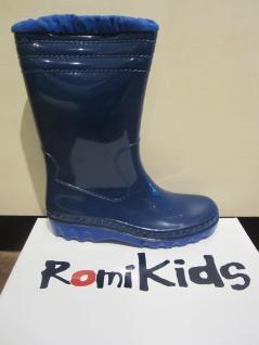 Romika Schneestiefel, Winterstiefel Gummistiefel, warm gefüttert, blau PVC500561