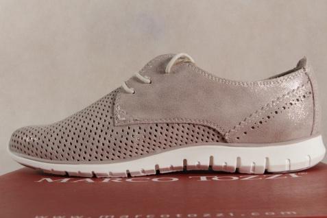 Marco Tozzi beige Schnürschuhe Sneakers Halbschuhe beige Tozzi metallic 23728 NEU! 1893e0