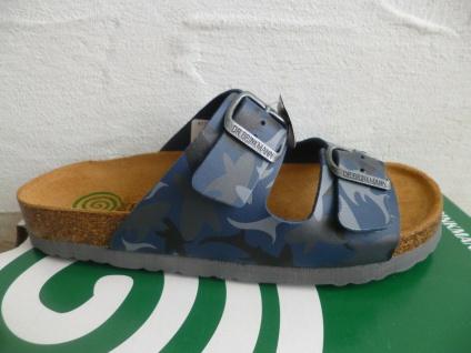 Dr. Brinkmann Pantolette Pantoletten Pantoffel Hausschuhe blau 500298 NEU!