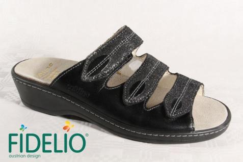 Fidelio Soft Echtleder Line Damen Pantolette Pantoffel Echtleder Soft 23423 NEU! d57587