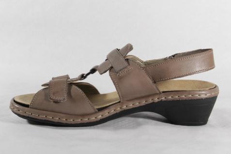 Rieker Damen Sandale beige, weiche NEU!! Innensohle, für Einlagen geeignet NEU!! weiche fac172