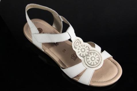 Remonte Sandale Sandaletten Sandalette weiss Lederinnensohle Echtleder NEU!
