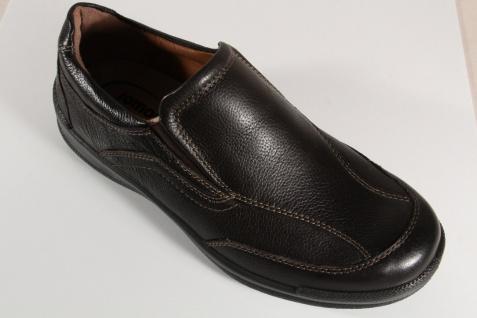 Jomos Slipper Halbschuhe Sneakers geeignet braun Leder für lose Einlagen geeignet Sneakers NEU 82131e