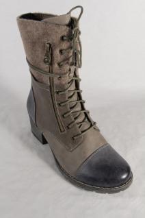 Rieker 92534 Damen Stiefel Boots Stiefelette Winterstiefel Beliebte beige/blau NEU Beliebte Winterstiefel Schuhe 833518