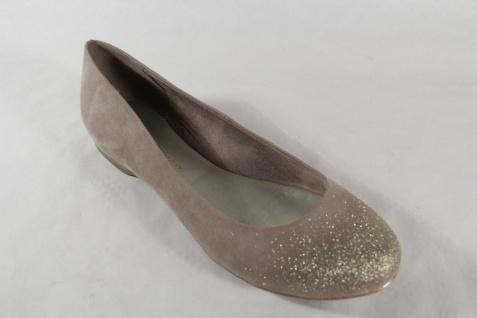 Marco Tozzi Ballerina 22104 Slipper Pumps beige/gold NEU! - Vorschau 4