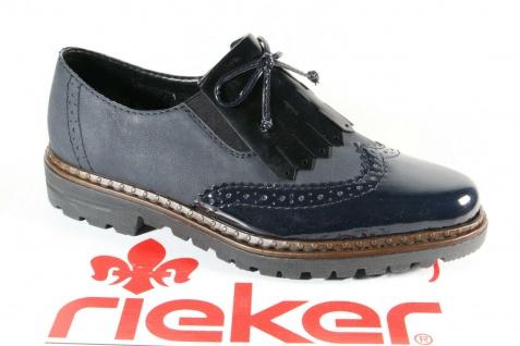 Rieker Slipper Sneakers Halbschuhe Sportschuhe Ballerina blau 54872 NEU