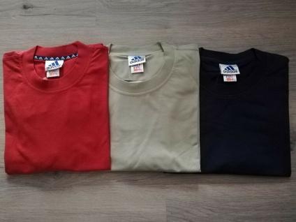 Adidas T-Shirts Set Herren beige orangerot blau Shirt Männer Oberteil Sport NEU!