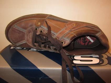 Skechers Wechselfußbett, Herren Schnürschuh Sneaker braun, Wechselfußbett, Skechers Echtleder 61584 NEU! 3ea0db