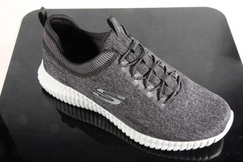 Skechers Elite-Flex Slipper Sneakers Halbschuhe schwarz grau 52642 NEU! - Vorschau 5