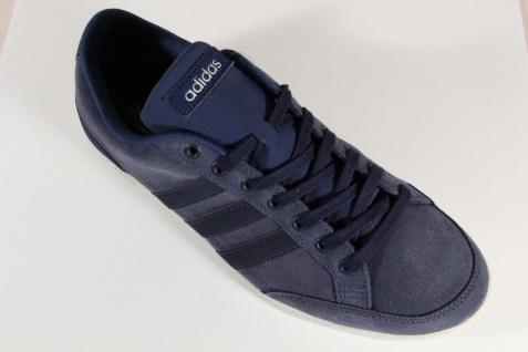 Adidas Schnürschuhe Sneakers Leder Halbschuhe Sportschuhe CAFLAIRE Leder Sneakers blau NEU! 3ee802
