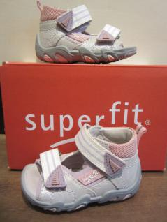Superfit LL-Sandale LL-Sandale Superfit silber/lila/rosa KVLederfußbett Neu !!! 1a2df5