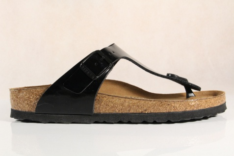Birkenstock Damen Zehenstegpantoletten, 043663 Softfußbett schmale Weite NEU! Beliebte Schuhe
