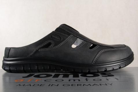 Jomos Herren Clogs Sabot Pantoletten schwarz Neu Leder, lose Einlagen geeignet Neu schwarz a6e3ee