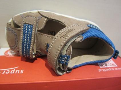 Superfit Lauflern-Stiefel Schuh Sandale braun/blau KVLederfußbett Neu !!! - Vorschau 3