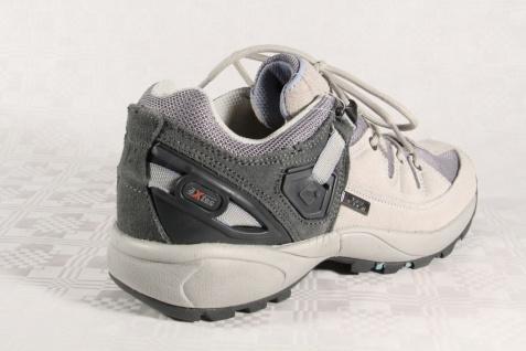 Killtec Damen Schnürschuh Sportschuh Sneaker Neu!! grau Leder Neu!! Sneaker d5bb70