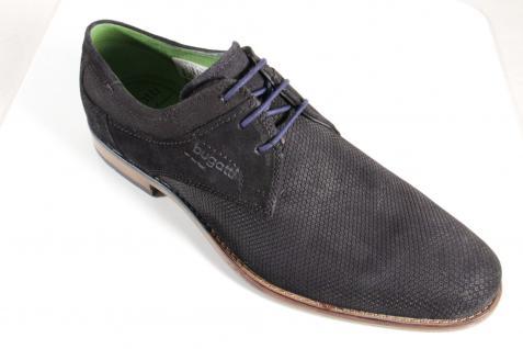 Sonderangebot Halbschuh @5792 Bugatti Herren Schnürschuh, Halbschuh Sonderangebot Sneaker schwarz, NEU! b44255