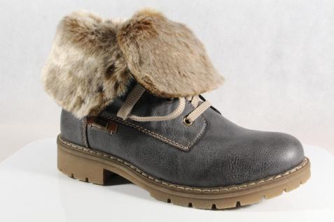 Rieker-Tex Schnürstiefel Stiefelette, Beliebte Stiefel, grau, Schurwollfutter Y9122 NEU Beliebte Stiefelette, Schuhe c59675