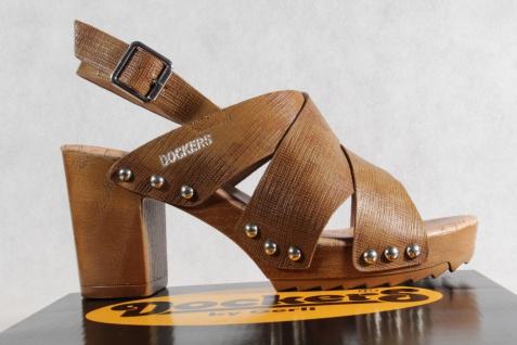Dockers braun Damen Sandale, Sandalen Sandaletten braun Dockers NEU!! 77a722
