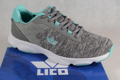 Lico Turnschuhe Schnürschuh Sneakers Sportschuhe Halbschuh Turnschuhe Lico grau/ grün NEU! f9b416