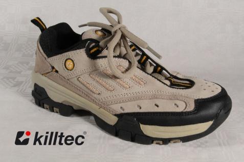 Killtec Sportschuhe Sneakers Schnürschuhe Sneakers beige Leder Neu!!