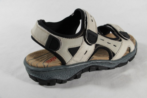 Rieker Damen Sandale Sandalen, Sandalette Sandaletten beige Leder NEU!! - Vorschau 4