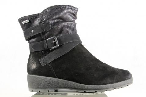 Jana-Tex Damen schwarz Stiefel Stiefeletten Stiefel Winterstiefel schwarz Damen Echtleder NEU 28270e