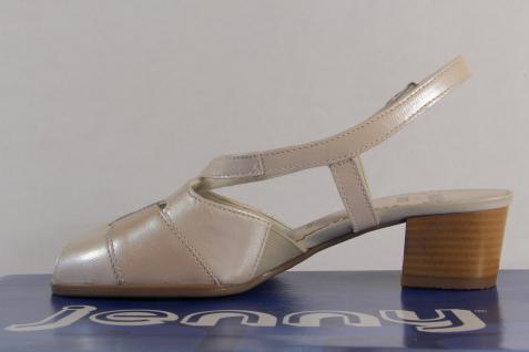 Jenny by Sling Ara Sandalen Sandaletten Sling by Echtleder beige NEU! 9afa18