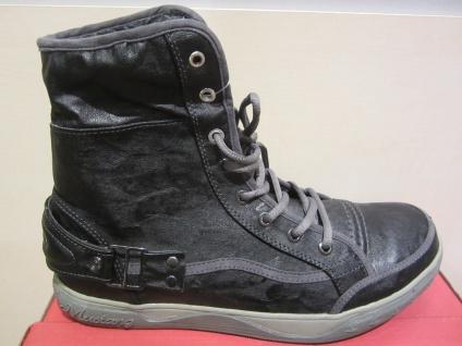 Mustang Schnürstiefel Stiefel Boots Schnürstiefel Mustang Winterstiefel schwarz, warm gefüttert NEU Beliebte Schuhe 698a97