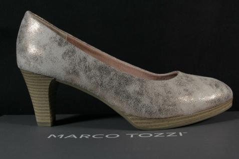 Marco Tozzi Damen Pumps Ballerina Slipper gold/ rose metallic NEU! - Vorschau 2