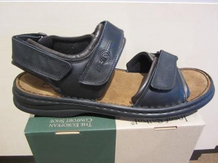 Seibel Sandale Sandale Sandale Sandalette schwarz/braun Leder Klettverschluss NEU 9da789